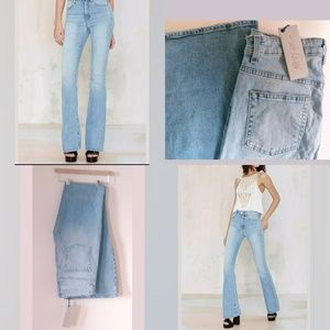NWT Nasty Gal Jeans What The Bell High Waist 29